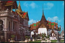 °°° 13387 - THAILAND - BANGKOK - THE GRAND PALACE - 1982 With Stamps °°° - Tailandia