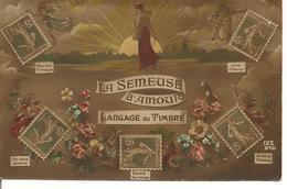 Langage Du Timbre LA SEMEUSE D'AMOUR Poste Fantaisie - Timbres (représentations)