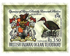 Ref. 72851 * MNH * - BRITISH INDIAN OCEAN TERRITORY. 1971. OPENING OF THE ROYAL SOCIETY RESEARCH CENTRE . OBERTURA ESTAC - British Indian Ocean Territory (BIOT)