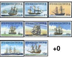 Ref. 66407 * MNH * - BRITISH INDIAN OCEAN TERRITORY. 1999. GRANDES VELEROS - British Indian Ocean Territory (BIOT)