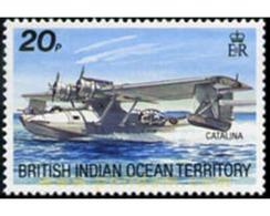 Ref. 599616 * MNH * - BRITISH INDIAN OCEAN TERRITORY. 1992. AIRCRAFTS . AVIONES - British Indian Ocean Territory (BIOT)