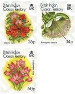 Ref. 94404 * MNH * - BRITISH INDIAN OCEAN TERRITORY. 2000. CHRISTMAS. FLOWERS . NAVIDAD. FLORES - British Indian Ocean Territory (BIOT)