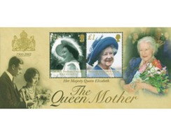 Ref. 102281 * MNH * - BRITISH INDIAN OCEAN TERRITORY. 2002. HOMAGE TO THE QUEEN MOTHER . HOMENAJE A LA REINA MADRE - British Indian Ocean Territory (BIOT)