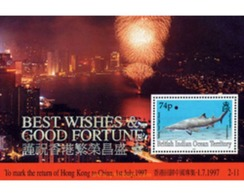 Ref. 138085 * MNH * - BRITISH INDIAN OCEAN TERRITORY. 1997. RETURN OF HONG KONG TO CHINA . DEVOLUCION DE HONG KONG A LA - British Indian Ocean Territory (BIOT)