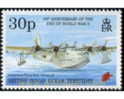 Ref. 599713 * MNH * - BRITISH INDIAN OCEAN TERRITORY. 1995. 50th ANNIVERSARY OF THE END OF THE SECOND WORLD WAR . 50 ANI - British Indian Ocean Territory (BIOT)