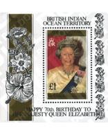 Ref. 349150 * MNH * - BRITISH INDIAN OCEAN TERRITORY. 1996. 70 ANIVERSARIO DE ISABEL II - Brits Indische Oceaanterritorium