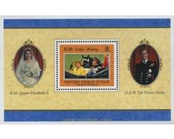 Ref. 349152 * MNH * - BRITISH INDIAN OCEAN TERRITORY. 1997. GOLDEN WEDDING ANNIVERSARY OF QUEEN ELIZABETH II . BODAS DE - British Indian Ocean Territory (BIOT)