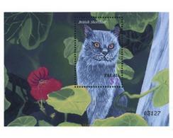 Ref. 93388 * MNH * - PALAU. 2002. PETS WONDERFUL WORLD . EL MARAVILLOSO MUNDO DE LAS MASCOTAS - Big Cats (cats Of Prey)