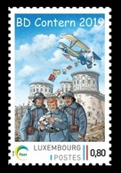Luxembourg (Meng Post) 2019 No. 128 Comics Festival In Contern. Aviation. Plane MNH ** - Neufs