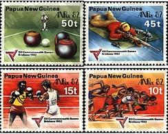 Ref. 45060 * MNH * - PAPUA AND NEW GUINEA. 1982. 12th BRISBANE COMMONWEALTH GAMES . 12 JUEGOS DE LA COMMONWEALTH EN BRIS - Boxe