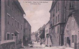 Le Locle, Haut Du Crêt-Vaillant, Grande Rue (7) Léger Pli - NE Neuchâtel