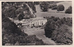 WINDERMERE. STORRS HALL HOTEL. AERIAL VIEW - Cumberland/ Westmorland