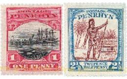 Ref. 609509 * MNH * - PENRHYN. 1927. DIFFERENT CONTENTS . MOTIVOS VARIOS - Penrhyn