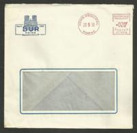 """Enveloppe Commerciale ' CHAMPAGNE BUR """" à REIMS / 1958 - Poststempel (Briefe)"""