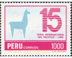 Ref. 30318 * MNH * - PERU. 1984. INTERNATIONAL FAIR OF THE PACIFIC, LIMA . FERIA INTERNACIONAL DEL PACIFICO EN LIMA - Unclassified