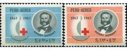 Ref. 352175 * MNH * - PERU. 1964. RED CROSS . CRUZ ROJA - Rotes Kreuz