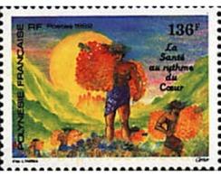 Ref. 43642 * MNH * - FRENCH POLYNESIA. 1992. GIMNASIA PARA LA SALUD - Unused Stamps