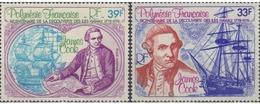 Ref. 43579 * MNH * - FRENCH POLYNESIA. 1978. 250 ANNIVERSARY OF THE BIRTH OF CAPTAIN COOK . 250 ANIVERSARIO DEL NACIMIEN - Unused Stamps