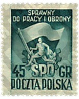 Ref. 79316 * MNH * - POLAND. 1951. FESTIVAL DEPORTIVO NACIONAL - Neufs