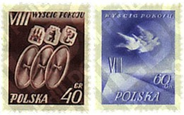 Ref. 61555 * MNH * - POLAND. 1955. CYCLE RACE FOR PEACE . VUELTA CICLISTA POR LA PAZ - Neufs