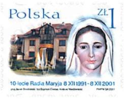 Ref. 87901 * MNH * - POLAND. 2001. 10 ANIVERSARIO DE RADIO MARYJA - Nuevos