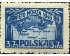 Ref. 165648 * MNH * - POLAND. 1946. NAVY DAY . DIA DE LA MARINA - Neufs