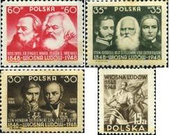 Ref. 165786 * MNH * - POLAND. 1948. CENTENARY OF 1848 REVOLUTION . CENTENARIO DE LA REVOLUCION DE 1848 - 1944-.... République