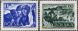 Ref. 166190 * MNH * - POLAND. 1954. 10 ANIVERSARIO DE LA BATALLA DE STUDZIANKI - Neufs