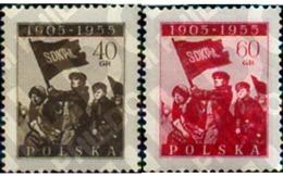 Ref. 166219 * MNH * - POLAND. 1955. 50 AÑOS DE LA RÉVOLUCION DE 1905 - Neufs