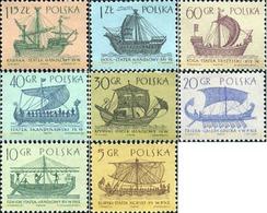 Ref. 166660 * MNH * - POLAND. 1963. DIFFERENT CONTENTS . MOTIVOS VARIOS - Schiffe