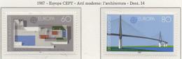 PIA  -  GERMANIA -  1987  :  Europa - Arti Moderne : Architettura -   (YV  1153-54) - Ponti