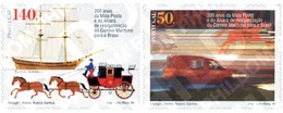Ref. 86938 * MNH * - PORTUGAL. 1998. 2nd CENTENARY OF THE LISBON-COIMBRA POST LINE . 2 CENTENARIO DE LA LINEA POSTAL LIS - Bateaux