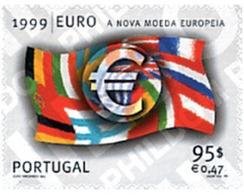 Ref. 88399 * MNH * - PORTUGAL. 1999. LA NUEVA MONEDA EUROPEA - Ideas Europeas