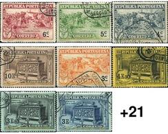 Ref. 353530 * USED * - PORTUGAL. 1924. 4 CENTENARIO DEL NACIMIENTO DEL POETA LUIZ DE CAMOENS - 1910-... República