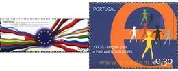 Ref. 157018 * MNH * - PORTUGAL. 2004. EUROPEAN ELECTIONS . ELECCIONES EUROPEAS - Unused Stamps
