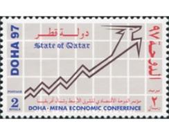 Ref. 576867 * MNH * - QATAR. 1997. CONFERENCIA ECONOMICA EN DOHA - Qatar