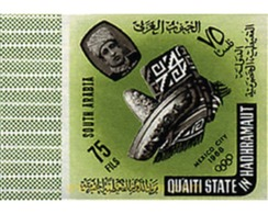 Ref. 21164 * MNH * - QU'AITI. State Of Hadhramaut. 1966. GAMES OF THE XIX OLYMPIAD. MEXICO 1968 . 19 JUEGOS OLIMPICOS VE - Summer 1968: Mexico City