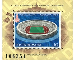Ref. 234397 * MNH * - ROMANIA. 1979. GAMES OF THE XXII OLYMPIAD. MOSCOW 1980 . 22 JUEGOS OLIMPICOS VERANO MOSCU 1980 - Summer 1896: Athens