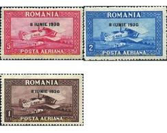 Ref. 356185 * HINGED * - ROMANIA. 1930. CONMEMORACION DE LA LLEGADA DEL REY CARLOS II - Nuevos