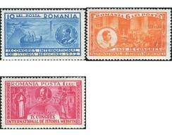 Ref. 166373 * MNH * - ROMANIA. 1932. 9 CONGRESO INTERNACIONAL DE MEDICINA - Neufs