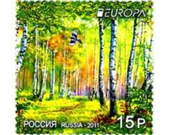 Ref. 267047 * MNH * - RUSSIA. 2011. EUROPA CEPT 2011 - AÑO INTERNACIONAL DE LOS BOSQUES - Nuovi