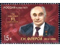 Ref. 298344 * MNH * - RUSSIA. 2013. FAMOUS PEOPLE . PERSONAJE - Nuevos