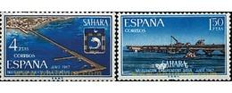 Ref. 58958 * MNH * - SPANISH SAHARA. 1967. INAUGURATIONS . INAUGURACIONES - Eisenbahnen
