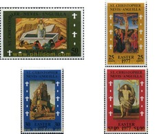 Ref. 330808 * MNH * - ST.CHRISTOPHER-NEVIS-ANGUILLA. 1977. EASTER . PASCUA - Easter