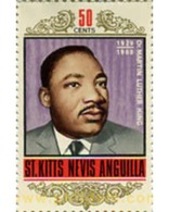 Ref. 359369 * MNH * - ST.CHRISTOPHER-NEVIS-ANGUILLA. 1968. MARTIN LUTER KING - Martin Luther King