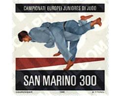 Ref. 70330 * MNH * - SAN MARINO. 1981. CAMPEONATOS JUVENILES DE EUROPA DE JUDO - Judo