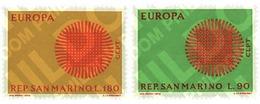 Ref. 62214 * MNH * - SAN MARINO. 1970. EUROPA CEPT. FLAMING SUN . EUROPA CEPT. SOL FLAMANTE - Ungebraucht