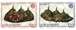 Ref. 62318 * MNH * - SAN MARINO. 1977. EUROPA CEPT. LANDSCAPES . EUROPA CEPT. PAISAJES - Ohne Zuordnung