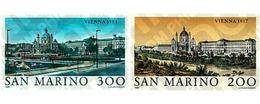 Ref. 57857 * MNH * - SAN MARINO. 1981. GREAT CITIES OF THE WORLD. VIENNA . LAS GRANDES CIUDADES DEL MUNDO. VIENA - Ohne Zuordnung