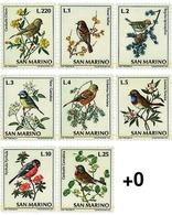 Ref. 70053 * MNH * - SAN MARINO. 1972. BIRDS . AVES - Ungebraucht